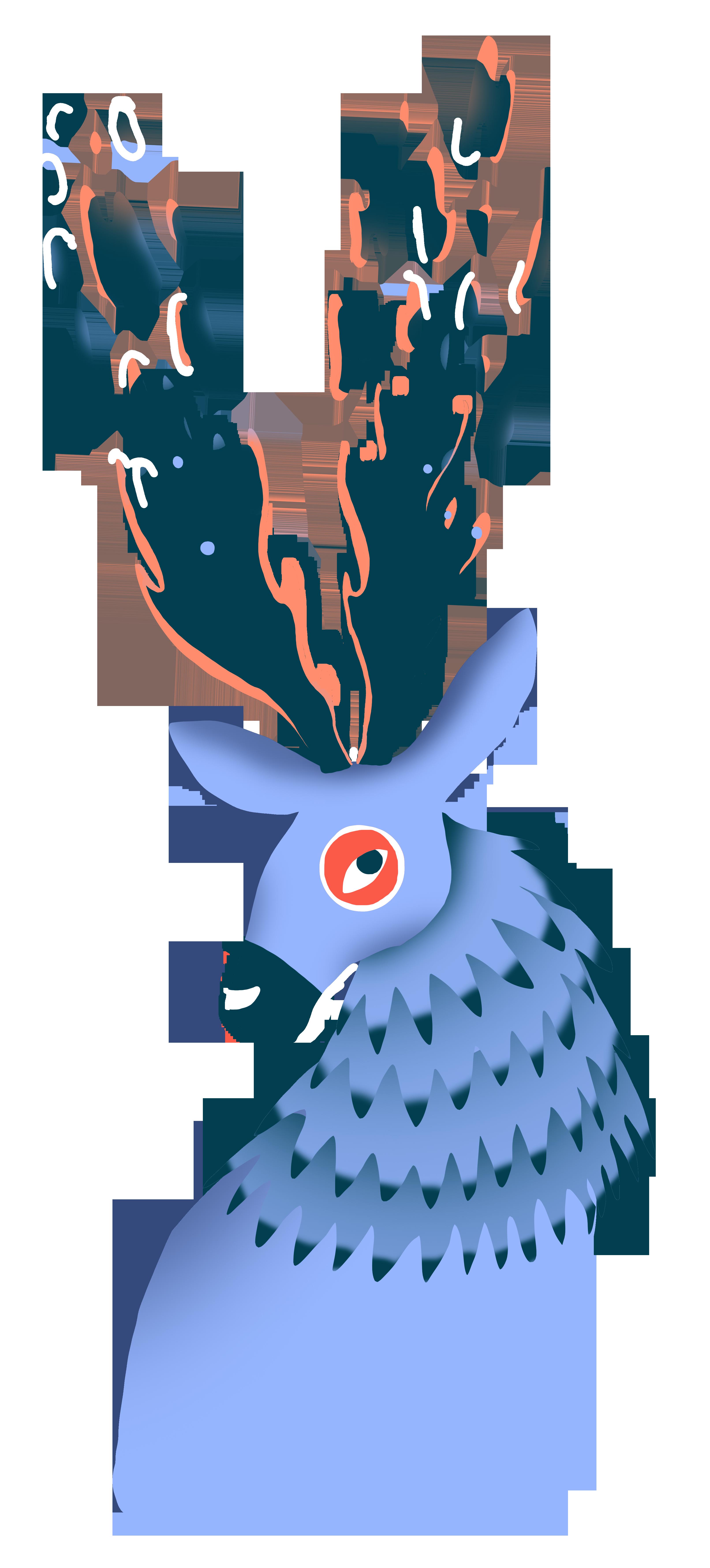 Illustration Cerf