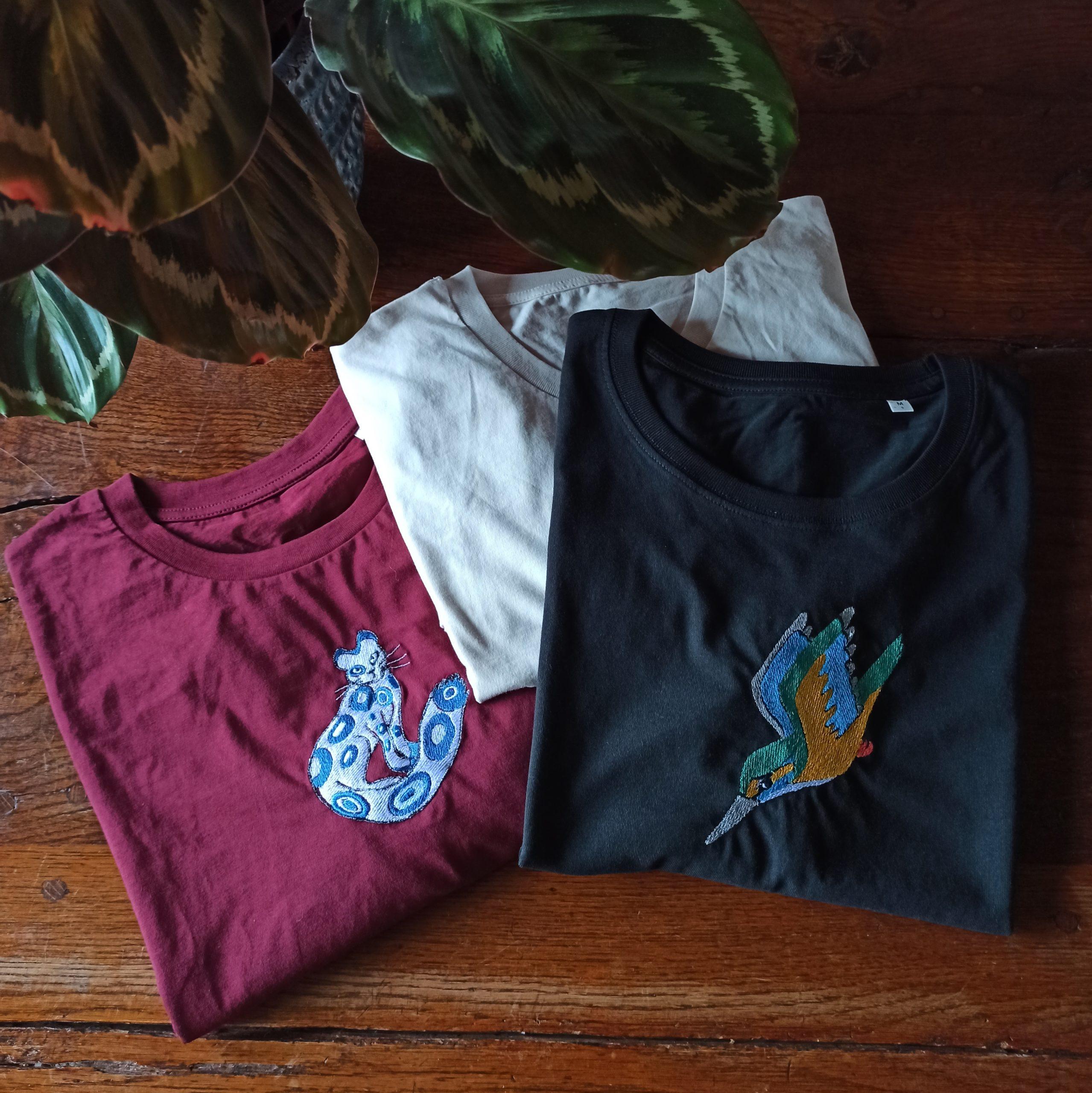 Broderies tee shirt