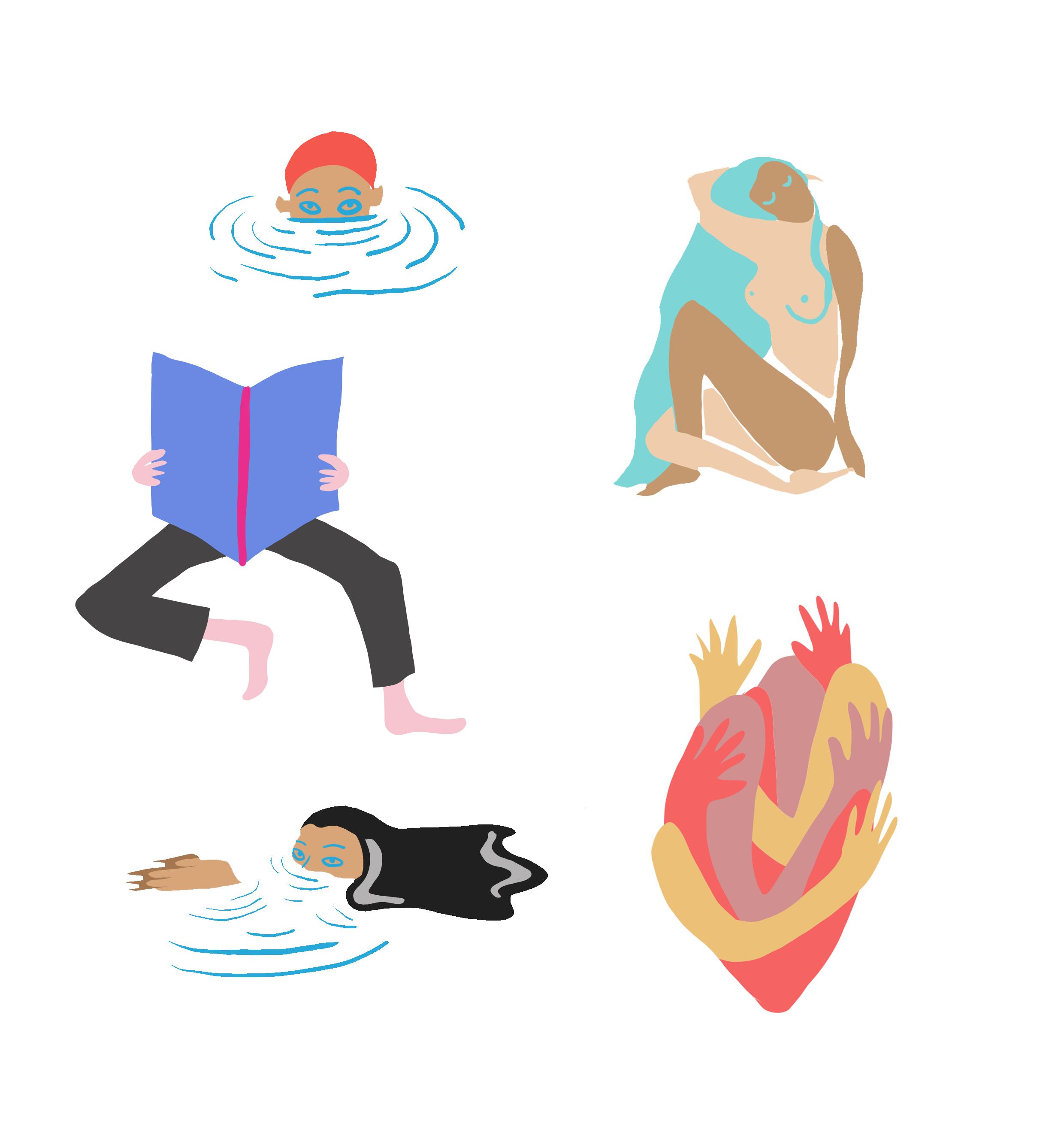 Illustration corps