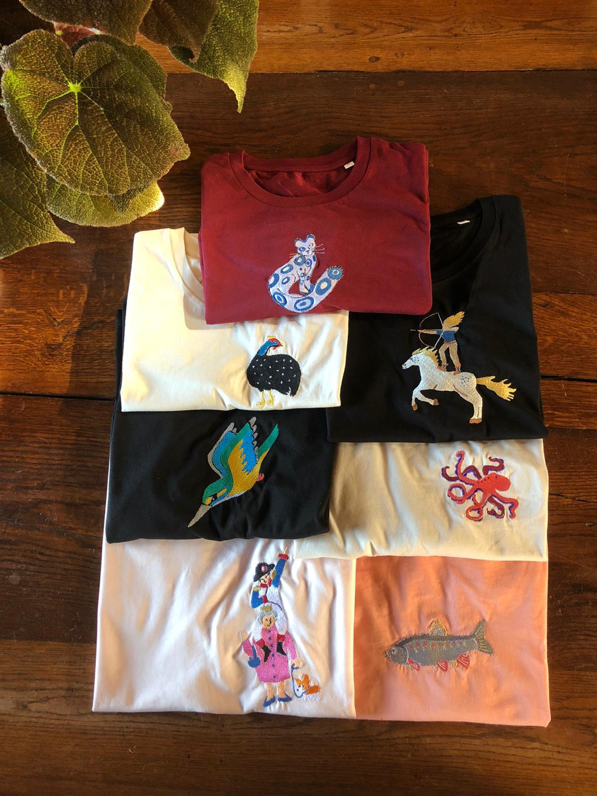 Teeshirt selection