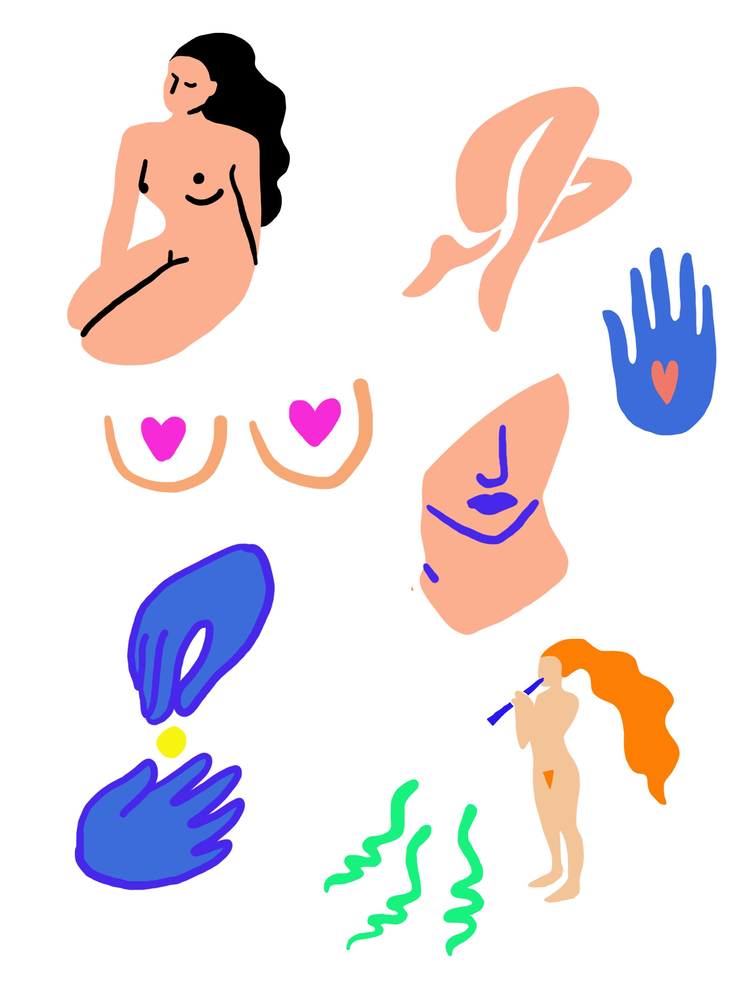 Illustration corps 2