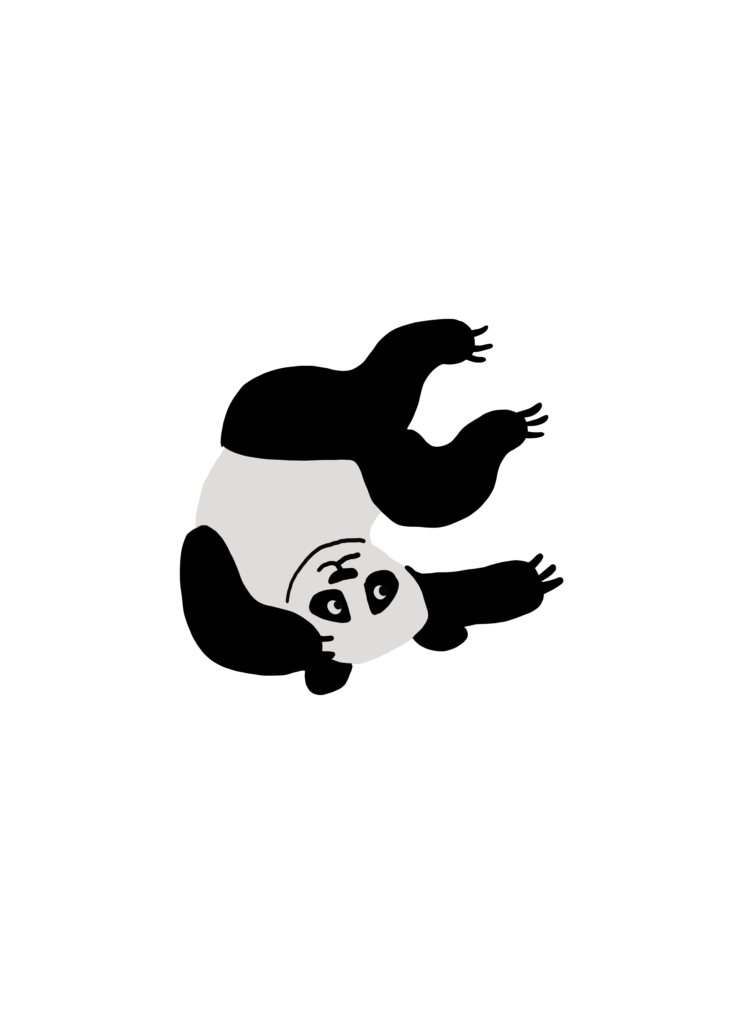 Illustration panda
