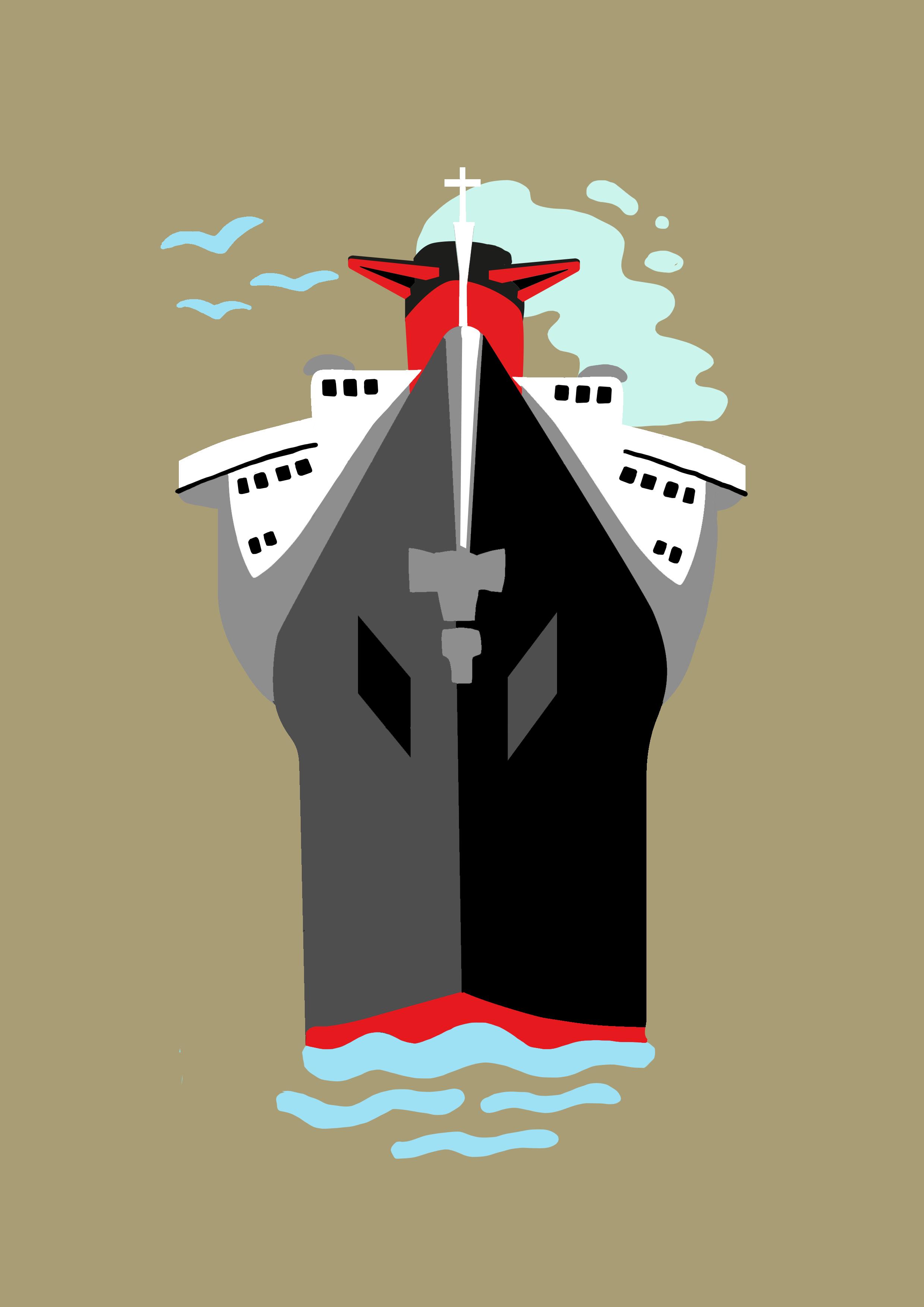 Illustration paquebot